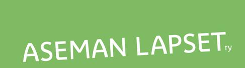 Aseman Lapset ry:n logo