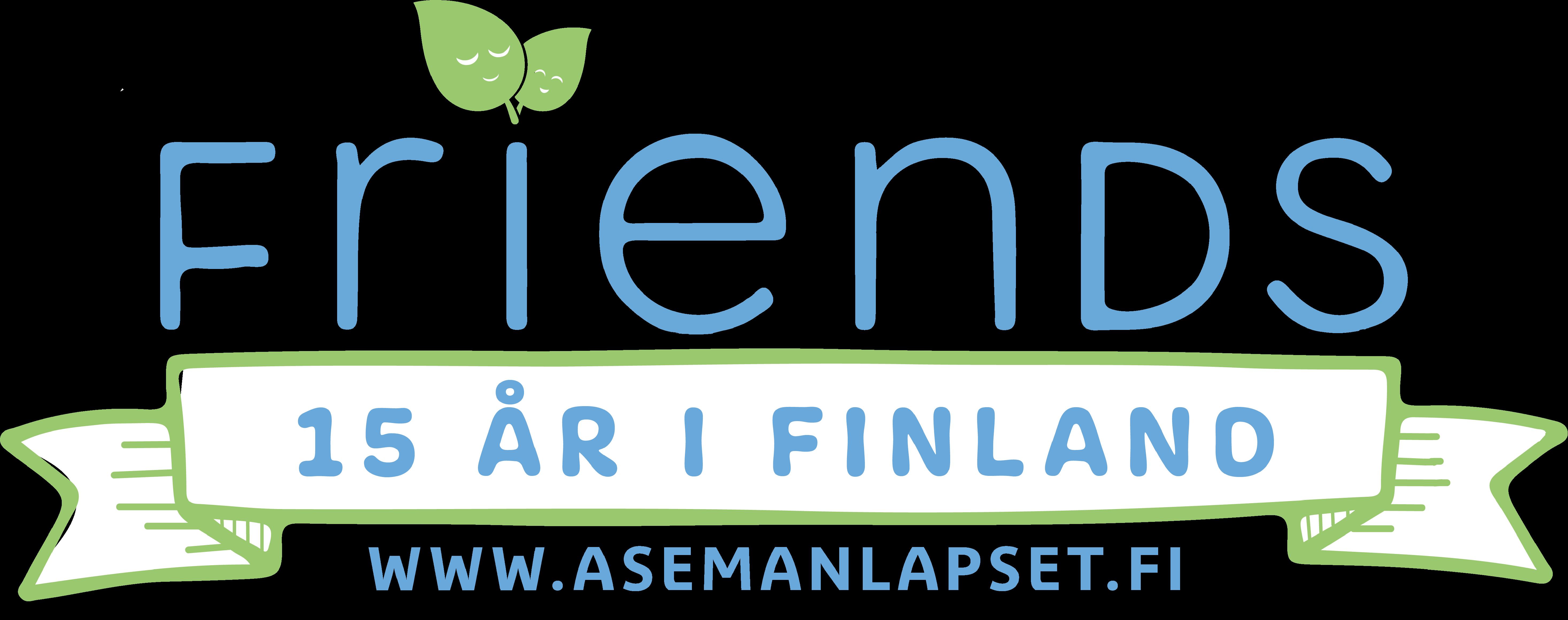 Friends 15 år i Finland