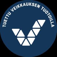 Veikkauksen logo, jossa teksti