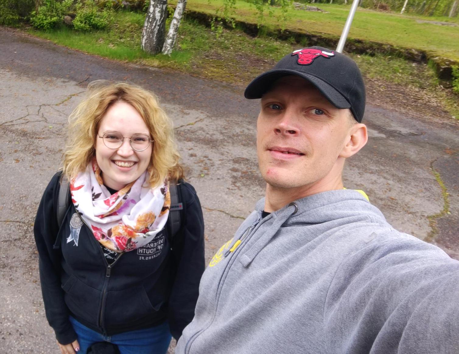 Julia Saarholm ja Pietro Saari